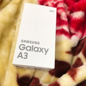 Samsung a3 Black sky 16 gb 2017 model