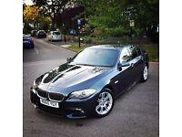 2011 BMW 520D M SPORT GREY MANUAL