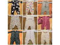 3-6 months baby clothes.