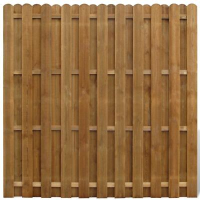 Hit and Miss Fence Panel Pinewood 180x180 cm E2Y6