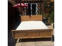 King size bed, ikea ( mattress inc)
