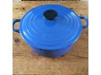 Signature Le Creuset large casserole dish