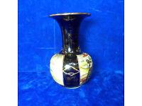 antique hand painted&signed japanese/chinese vase oriental satsuma?meiji?