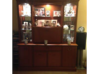 STILL FOR SALE: Selling this hand made Morris's solid teak/oak display unit.