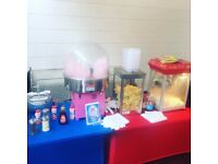 Candy floss Hire, chocolate fountain, popcorn, hotdogs, bouncy castle, slush,Cheap