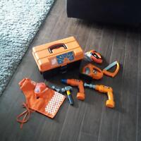 Home Depot Tool Box and accessories