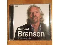 Richard Branson BBC Audio CD - In His Own Words