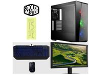 BRAND NEW Cooler Master i5 Gaming PC Bundle