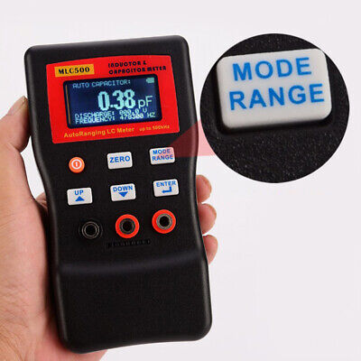 High Precision Auto Ranging Lc Meter Capacitance Inductance Meter 500 Khz