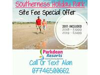 Cheap Starter Caravan -Southerness Holiday Park - Near Glasgow- Solway Coast