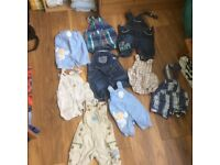 Unisex baby clothes 0-3 months