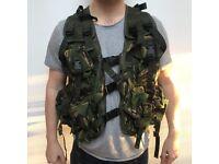 Military, British cam, combat tactical vest NEW