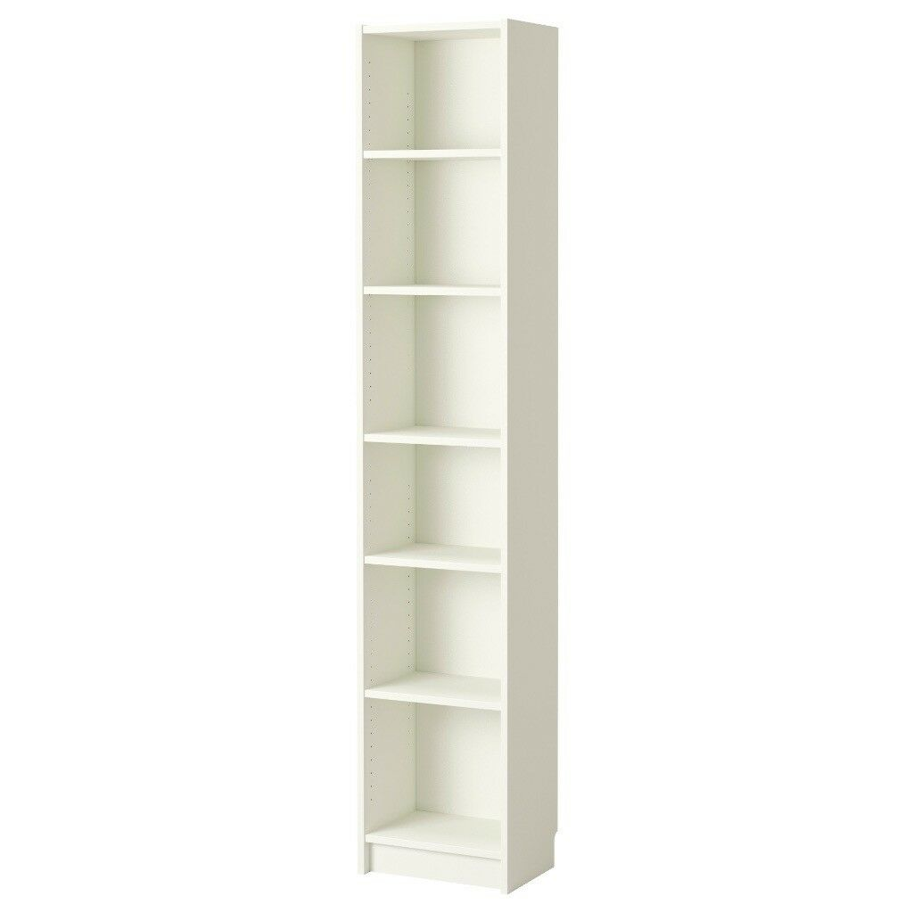 Free Ikea Billy Bookcase Slim White 40x28x202 Cm In