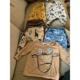 Next baby boy clothing 0 to 6 months bundle