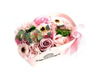 Soap Flower Baskets. Great Gifts