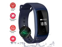 Fitness Tracker, IP67 Waterproof Sports Smart Wristband for Samsung, Android Phone and IOS IPhone