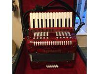 Stephanelli 12 Bass Piano Accordion
