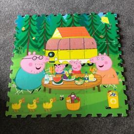 Large Peppa Pig Foam Puzzle Play Mat