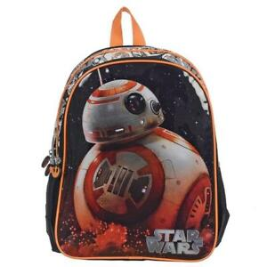 Star Wars BB-8 Backpack for Kids 15 Inch School Bag [Black]