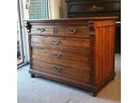 Large antique French drawers circa 1900