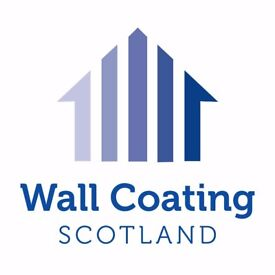 Exterior House Painting, Property Transformations, proPERLA Approved Wall Coating Serving Scotland