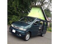 HI SPEC MAZDA BONGO 2.5 TD 6 SEATER/CAMPER /DAY VAN/LOW MILES/LOW LEVEL COOLANT ALARM /VW T4 T5