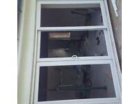 UPVC 3 PANEL SLIDING DOOR
