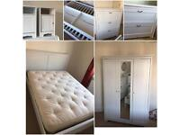 Complete bedroom furniture set (ikea aspelund)