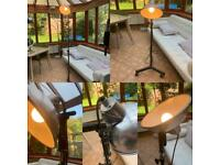 DELIVERY Great Retro Vintage extendable floor lamp