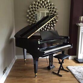Tesoro Nero - BLACK HIGH GLOSS BABY GRAND PIANO