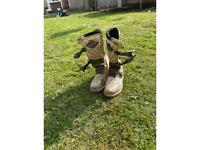 Size 3 boys motor cross boots