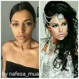 Fully qualified hair and makeup artist nafesa_mua best offers based in Birmingham