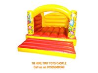 BOUNCY CASTLE HIRE: PERFECTLY FIT IN SMALL SPACES INDOOR OR OUTDOOR BIRTHDAY TODDLER PARTIES MITCHAM