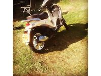 58 plate piaggio liberty low miles 38000 £299
