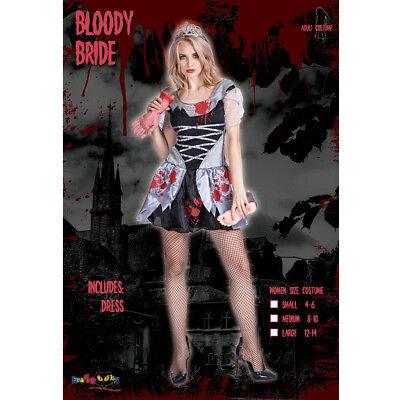 Halloween De Terror (Le Halloween Terror Tema Cosplay Traje Sangriento Novia Baile de Máscaras Corto)