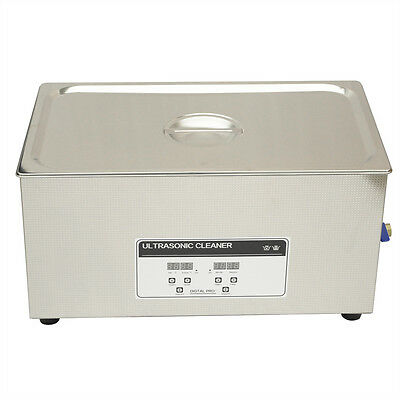 Nzl 220v Professional Ultrasonic Cleaner 22l Heater Timer Cleaning Tank Industry
