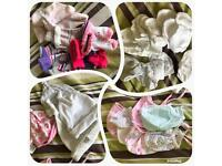 BUNDLE OF NEWBORN BABY GIRL CLOTHES