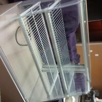 dry pastry display case