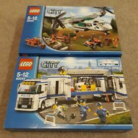 £20 PER SET Lego City £20 PER SET.