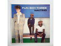 Fun Boy Three Waiting Vinyl LP 1983 Original UK Album Chrysalis - CHR 1417