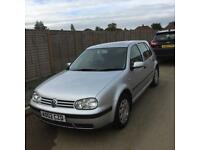VW GOLF 2002 1.9 TDI S