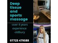 Sports / Deep Tissue/ Swedish Massage Therapist and Sauna Sessions