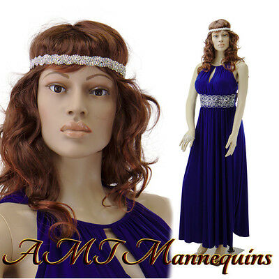 Female Mannequin Display Sexy Manquin Head Rotate Full Body Manikin-sp242wigs