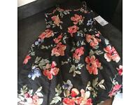 Girls Floral Print H&M Dress New With Tag