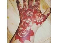 Intricate Henna artist