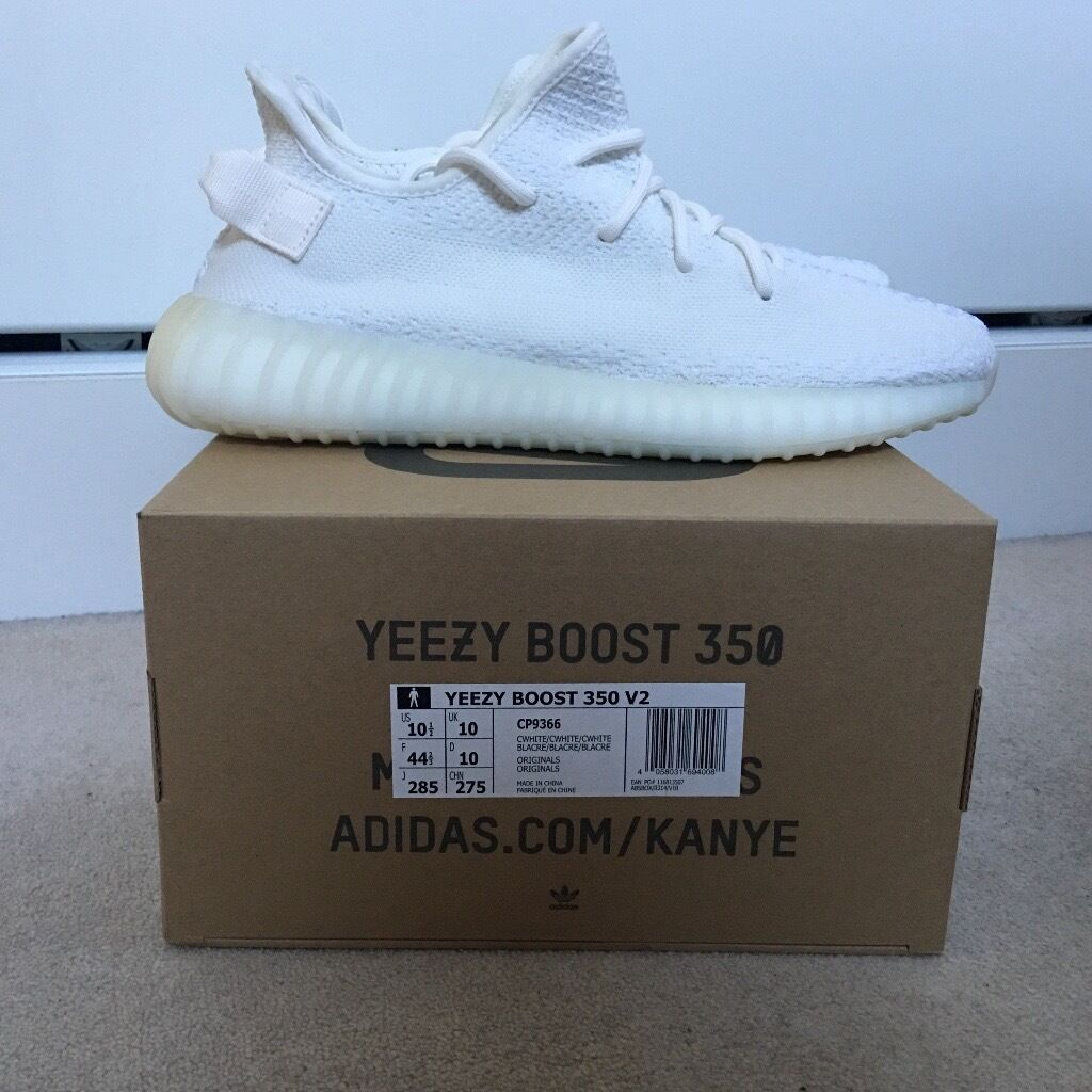 adidas uk yeezy white