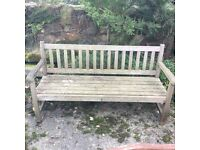 Various wooden benches for sale all sizes