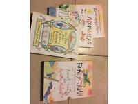 Quentin Blake Russell Hoban - fancy that! 3 hard cover story books in box cover