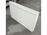 Double panel wall-mount radiator 100 x 60 x 10cm