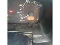 TX2 taxi speadohead instrument panel